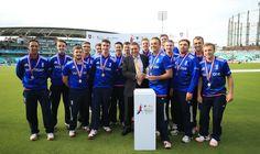 England Physical Disability team ahead of #cricketforheroes