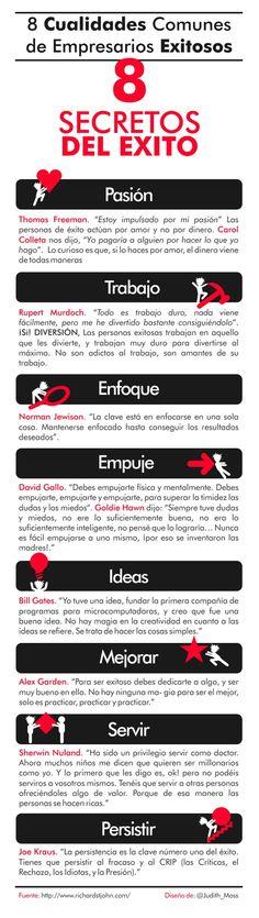 8 secretos del exito Ideas Desarrollo Personal para www.masymejor.com