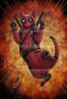 Deadpurr // Jenny Parks and pets yelling goat, and pets xlnx stock, and pets esl questions about weather kids, people and pets nycdoe subcentral login. Deadpool Wallpaper, Marvel Wallpaper, Deadpool Art, Super Cat, Marvel Art, Animes Wallpapers, Cat Memes, Crazy Cats, Cat Art