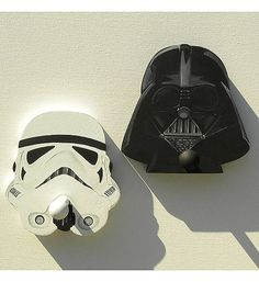 Star Wars Wall Pegs - Another Idea for Angelo's Soon to Be Star Wars Bedroom