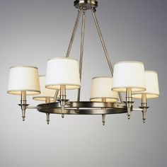 Robert Abbey Winston Chandelier for the Dining Room