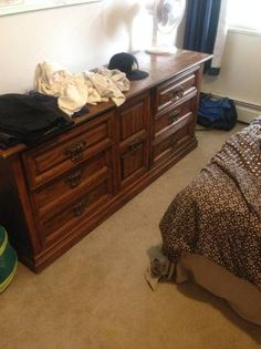Im Moving Out And Will Not Be Taking My Furniture The Dresser Is