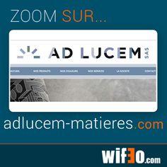 Votre menu -> *Aspect de votre menu* -> Choisir un autre type de menu  Zoom sur un site stylé qui utilise un des nouveau menus !  http://www.adlucem-matieres.com/ Bravo !