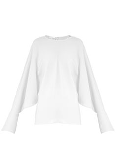 Click here to buy Stella McCartney Marion split-sleeve cady top at MATCHESFASHION.COM