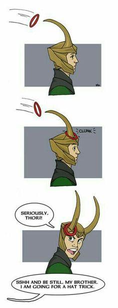 ~Loki~ ~Thor~ ~Ring Toss~