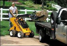 I WANT ONE!!!!  Boxer mini skid steer loader