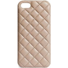 The Case Factory Quilted leather Iphone 5 cover found on Polyvore