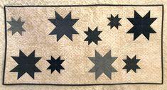 Kit Camino de Mesa Blue Stars. Patrón de patchwork diseñado por Mi Casita de Patch.
