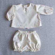 Conjunto Primera Puesta www.kokorokotone.com #organiccotton #fashion #newborn