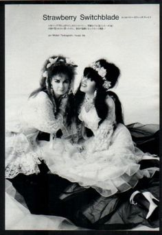 1985-Strawberry-Switchblade-JAPAN-mag-photo-pinup-picture-mini-poster-ss011m