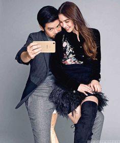 Joshua García y Julia Barretto posan juntos para Metro Filipinas Julia Baretto, Joshua Garcia, Celebrity Singers, Male Fashion Trends, Celebs, Celebrities, Youtubers, Ulzzang, Ph