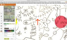 spoonflower tutorial: how to make (or fake) a seamless basic repeat using picmonkey