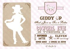 Cowgirl+Birthday+Invitation+Printable+by+paigesofstyle+on+Etsy,+$15.00