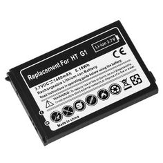 Standard Lithium-ion Replacement Battery for T-mobile HTC G1 Google Phone Smartphone (Wireless Phone Accessory)  http://www.innoreviews.com/detail.php?p=B002P334NA  B002P334NA