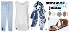 How to wear jeans for summer