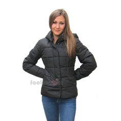 Geox Women's Casual Jacket Sport Fashion W4428E F9000 Black Winter ...