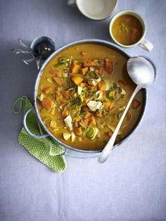 Das Rezept für Curry-Hähnchen-Eintopf und weitere kostenlose Rezepte auf LECKER.de