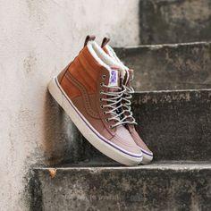 Vans Sk8-Hi 46 MTE (Hana Beaman) Brown/ Angor - Footshop