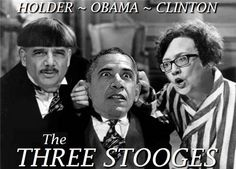 I'd have to say that they make the Three Stooges look awfully smart
