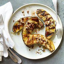 Maple-Pecan Grilled Bananas  3p