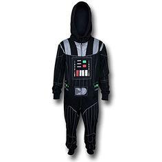 Star Wars Mens Vaders Jumper Jumpsuits Black Small @ niftywarehouse.com #NiftyWarehouse #Geek #Products #StarWars #Movies #Film