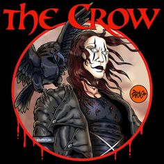 PARDO DIBUJOS: THE CROW by PARDO dibujos