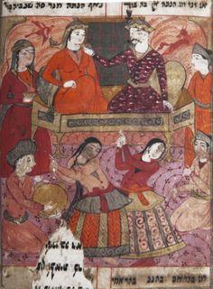 Libro de Ester (Bahram-o Goldanam, 1600) La vida está llena de tragedias, de comedias y de la mano invisible de Dios