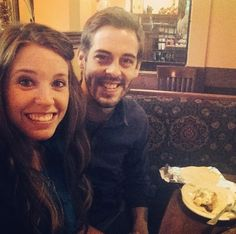 Jill and Derick on a date for their 2 weekanniversary