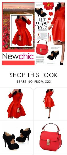 """""""newchic 2.4"""" by meyli-meyli ❤ liked on Polyvore featuring Charlotte Tilbury, women's clothing, women, female, woman, misses and juniors"""