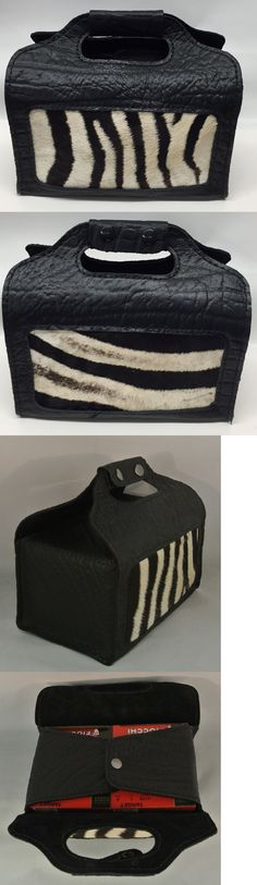 Skeet and Trap Shooting 111292: Zebra And Cape Buffalo Hide 4 Box Shotgun Shell Carrier Sporting Clays Skeet Black -> BUY IT NOW ONLY: $95 on eBay!