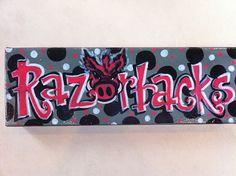 Razorbacks canvas.