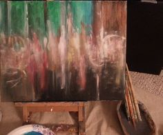Im ready #art #painting #colors #acrylic #abstract  #abstractexpressionism by caressafranchesca