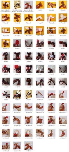 풍선하하 balloonhaha ㅡ 원본 사진 ㅡ 큰 사진은 이메일로 보내드립니다: 교육용 097 사슴