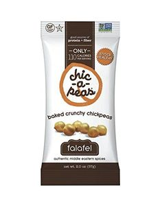 Chic-a-Peas Crunchy Chickpeas Snacks, Falafel, 2 Ounce (Pack of 12) Learn more by visiting the image link.