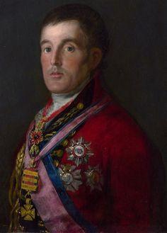 Francisco de GoyaPortrait of the Duke of Wellington 1812–14