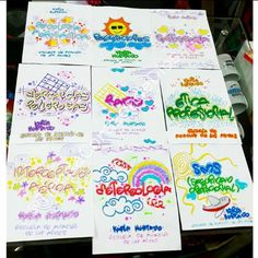 ❇ Typography, Lettering, Doodle Drawings, High School, Doodles, Bullet Journal, Clip Art, Kawaii, Education