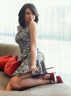 Lana Parrilla in Regard Magazine.         The fun side of beauty