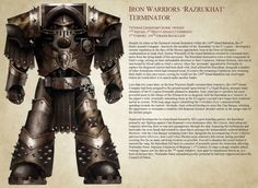 IHF's HH Designs [22/4 Iron Warriors Razrukhat Profile] - Page 10 - + THE HORUS…