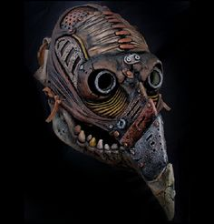 Steampunk Plague Doctor mask