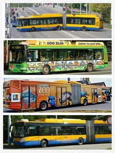 #zlín #trolejbusy #means of transport Buses, Transportation, Vehicles, Busses, Car, Vehicle, Tools
