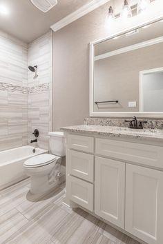 Few Important Design Tips For Smaller Bathrooms – Home Dcorz Guest Bathroom Remodel, Bathroom Renos, Bathroom Renovations, Bath Remodel, Bathroom Design Small, Bathroom Interior Design, Modern Bathroom, Tan Bathroom, Bathroom Hardware