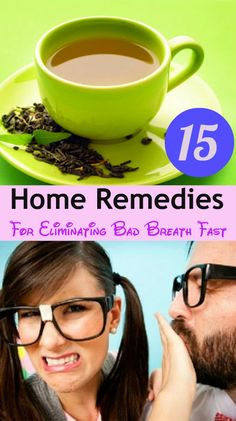15 Home Remedies for Eliminating Bad Breath Fast
