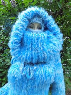 Mohair Yarn, Mohair Sweater, Catsuit, Gros Pull Mohair, Knitwear Fashion, Costume, Balaclava, Raglan, Sweater Outfits