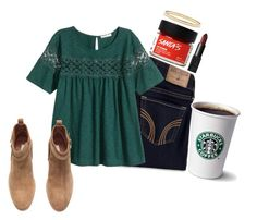 """""""Day 6: Decorating the tree"""" by ellababy13 ❤ liked on Polyvore featuring Hollister Co., H&M, NARS Cosmetics, Kate Spade, women's clothing, women's fashion, women, female, woman and misses"""