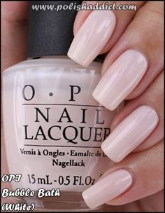 OPI Bubble Bath  (Note: There's another v of this that is very pink; click thru to the Polish Addicts full set of pics.)
