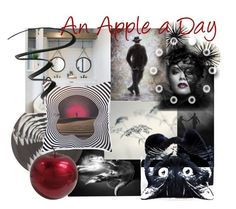 """An Apple a Day"" by plumsandhoneyvintage ❤ liked on Polyvore featuring art"