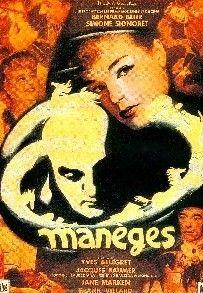 Maneges. (France). Simone Signoret, Bernard Blier, Jane Marken. Directed by Yves Allegret. 1950