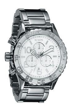 Nixon 'The 42-20 Chrono' Watch ($425)