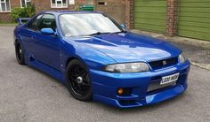 nissan skyline gtr R33 blue | Nissan Skyline R33 GTST-R ( FULL GTR CONVERSION )