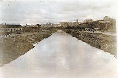 AHSP - Acervo fotográfico do Arquivo Histórico de São Paulo, Rio Tamanduatehy Av. do Estado, 1927